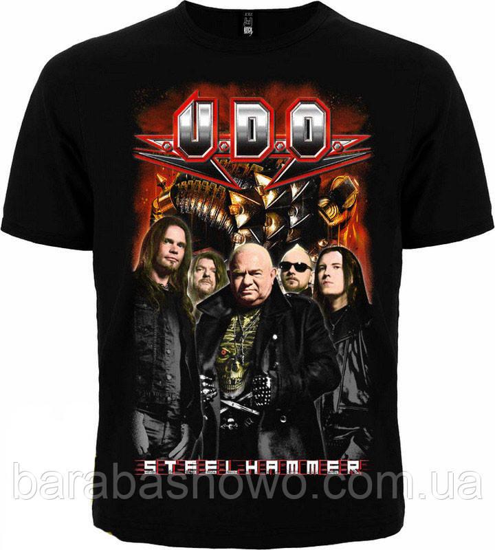 Рок футболка U. D. O. SteelHammer