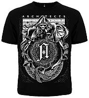 Рок футболка Architects. Cosmic Reaper