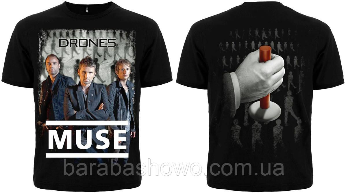 "Рок футболка Muse ""Drones"""