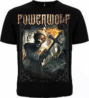 Рок футболка Powerwolf. Preachers of the night