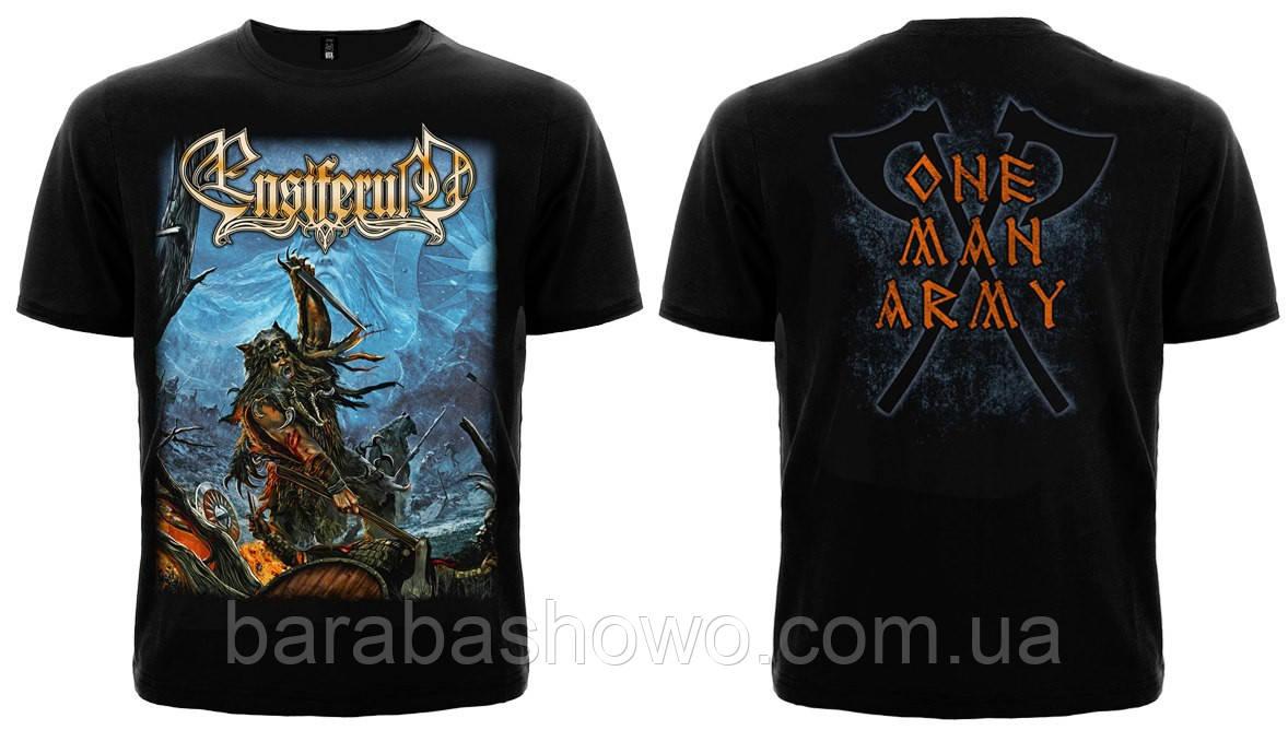 "Рок футболка Ensiferum ""One Man Army"""