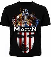 Рок футболка Marilyn Manson