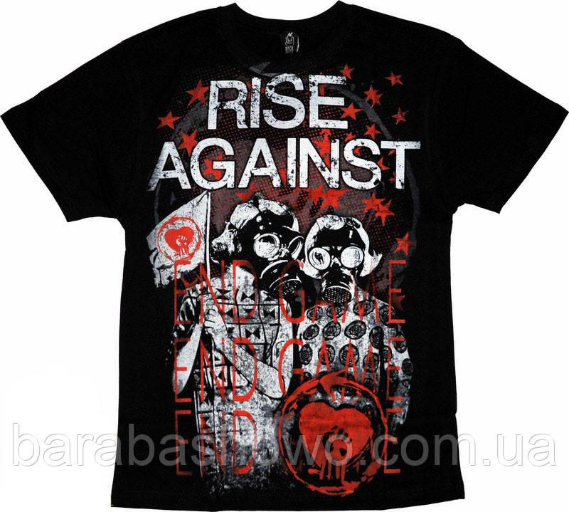 Рок футболка Rise Against