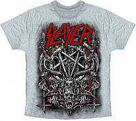Рок футболка Slayer (Пентаграмма)