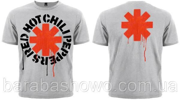 Футболка Red Hot Chili Peppers (меланж)