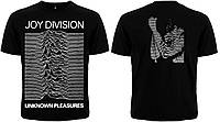 "Рок футболка Joy Division ""Unknown Pleasures"""
