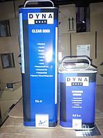 Лак автомобильный акриловый Dyna Clear 5000 HS  5 л + отвердитель Medium 2,5 л