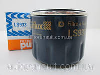 Фильтр масляный на Рено Логан + Сандеро 1.5dCi (75/86/88л.с) 2007-> - PURFLUX (Франция) LS933
