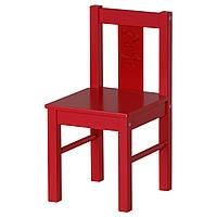 KRITTER Детский стул, красный
