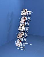 Стойка наклонная 10 ячеек под колготки