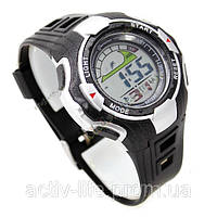 Спортивные наручные часы Mingrui 8006 ( цвет: желтый ) секундомер, WR30M