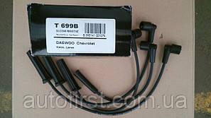 Tesla T699B Высоковольтные провода  Daewoo-Chevrolet Lanos 1.4/1.5, Aveo 1.4