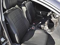 Авточехлы из экокожи на  Mitsubishi Outlander 2 XL с 2006-2012г. Джип