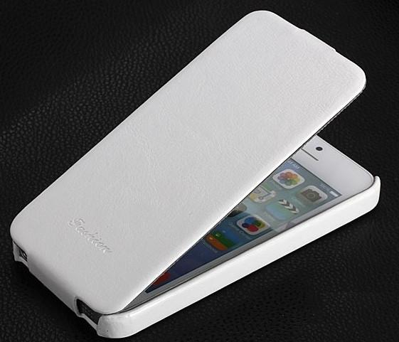 Кожаный чехол флип Fashion для iPhone 5 5S