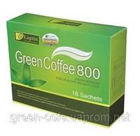 3 упаковки Leptin Green Coffee 800 зеленый кофе для похудения