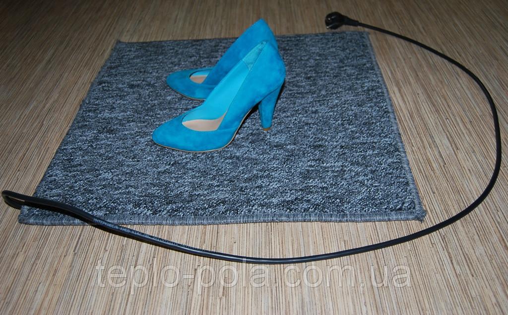 Коврик электрический  50*80 см, инфракрасный электро-коврик для ног