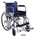 KY 873 46cm стальная инвалидная коляска, кожвинил