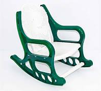 """Кресло-качалка /детское/ (10) - цвет зеленый """"K-PLAST"""""""