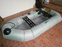 """Надувная резиновая лодка """"Язь"""", двухместная"""