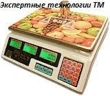 Торговые электронные весы ACS-35 OXI до 35 кг