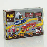Железная дорога 828-10 (30/2) свет, на батарейках, в коробке