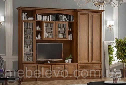 Гостиная  Порто 2165х2700х630мм    Мебель-Сервис