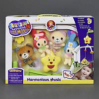 Карусель D 093 (36) заводная, мягкие игрушки, в коробке
