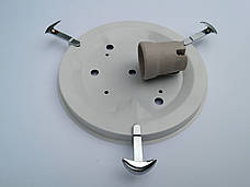 Потолочный круглый накладной светильник диаметр 25 см Муран одно ламповый, фото 3