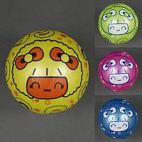 Мяч детский резиновый 772-449 (400) 4 цвета, 60гр, размер №9