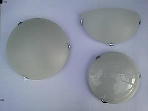 Потолочный круглый накладной светильник диаметр 40 см трех ламповый , фото 2
