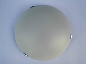 Потолочный круглый накладной светильник диаметр 40 см трех ламповый , фото 3