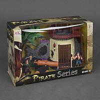Набор пиратов 0807-5 (18) свет, звук, в коробке