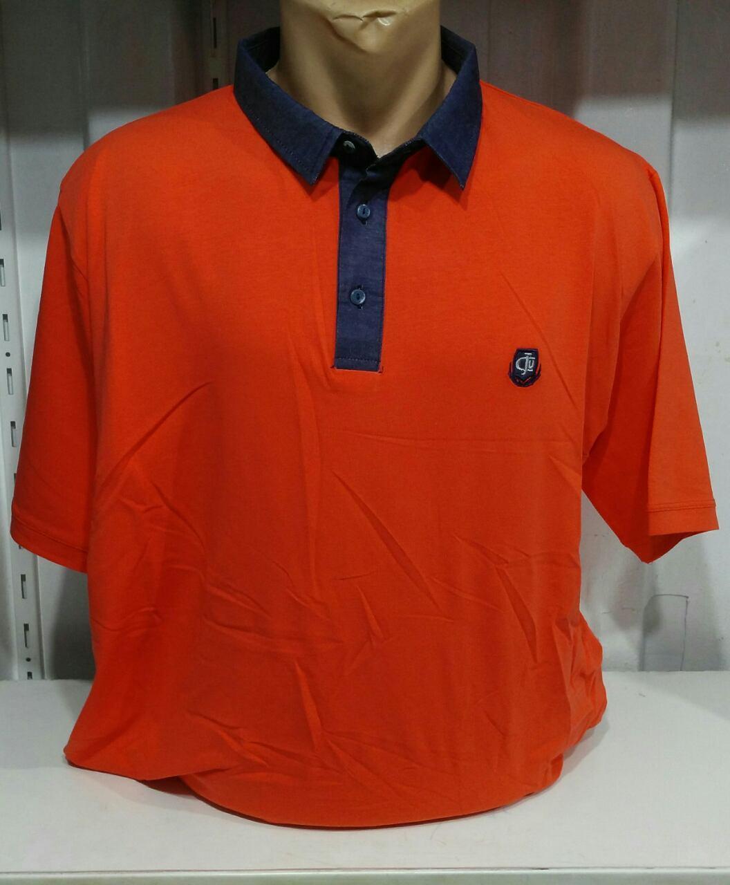 7af6707cc90a0 Мужская футболка большой размер поло