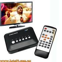 HD медиа плеер - cмотри фильмы, mp3 с флешек на ТВ (медип приставка к телевизору)