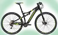 "Велосипед 29"" Cannondale Scalpel 4 рама - M черный с зеленым REP"