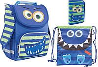 """Комплект школьный. Рюкзак """"Monster"""" 553422, Пенал и Сумка, ТМ SMART PG-11"""