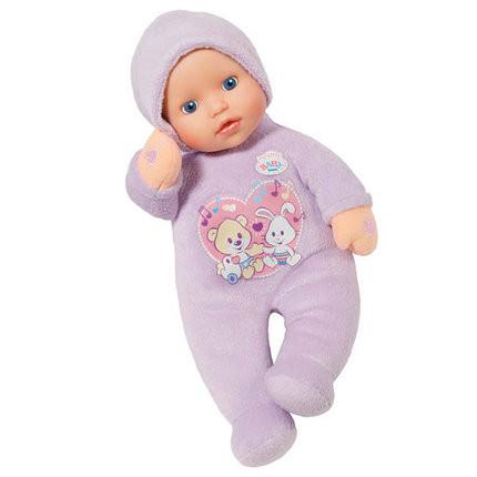 Кукла пупс Беби Борн музыкальная 30 см My Little First Love Baby Born Zapf Creation 822517