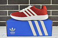 Мужские легкие кроссовки Adidas Lunar Red (адидас, реплика) (реплика)