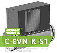 Воздухонагреватель канальный электрический для круглых каналов C-EVN-K-S1-250-3,0