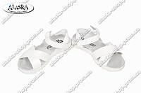 Детские сандалии белые (Код: 2610) , фото 1