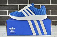 Мужские легкие кроссовки Adidas Lunar Blue (адидас, реплика) (реплика), фото 1