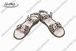 Детские сандалии серые (Код: 2637)