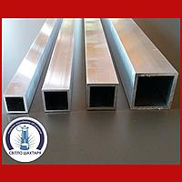 Труба алюминиевая квадратная 40х40х2, без покрытия, L=6000 мм