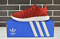 Кроссовки мужские Adidas Tubular SHADOW Red/White (адидас, реплика)