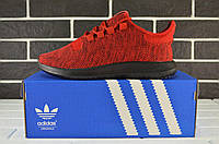 Кроссовки мужские Adidas Tubular SHADOW Red/Black (адидас, реплика)