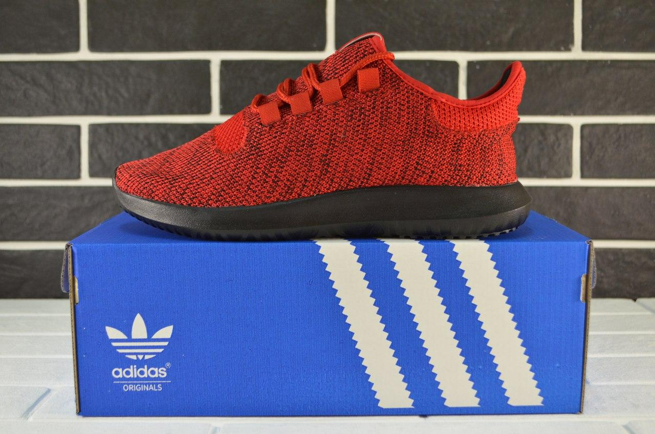 Кроссовки мужские Adidas Tubular SHADOW Red Black (адидас 0497916774a66