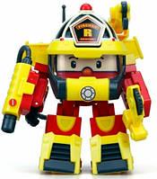 Рой трансформер в костюме супер пожарного (15 см), Robocar Poli (83314)