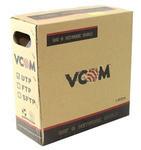 Кабель UTP Cat5e VCOM CCA Solid 4 pairs 24AWG 305м