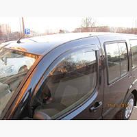 Ветровики на окна автомобиля Sunflex Fiat Doblo II 2005+ (2шт)