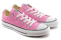 Converse all star pink low кеды конверс розовые низкие р. 35-41